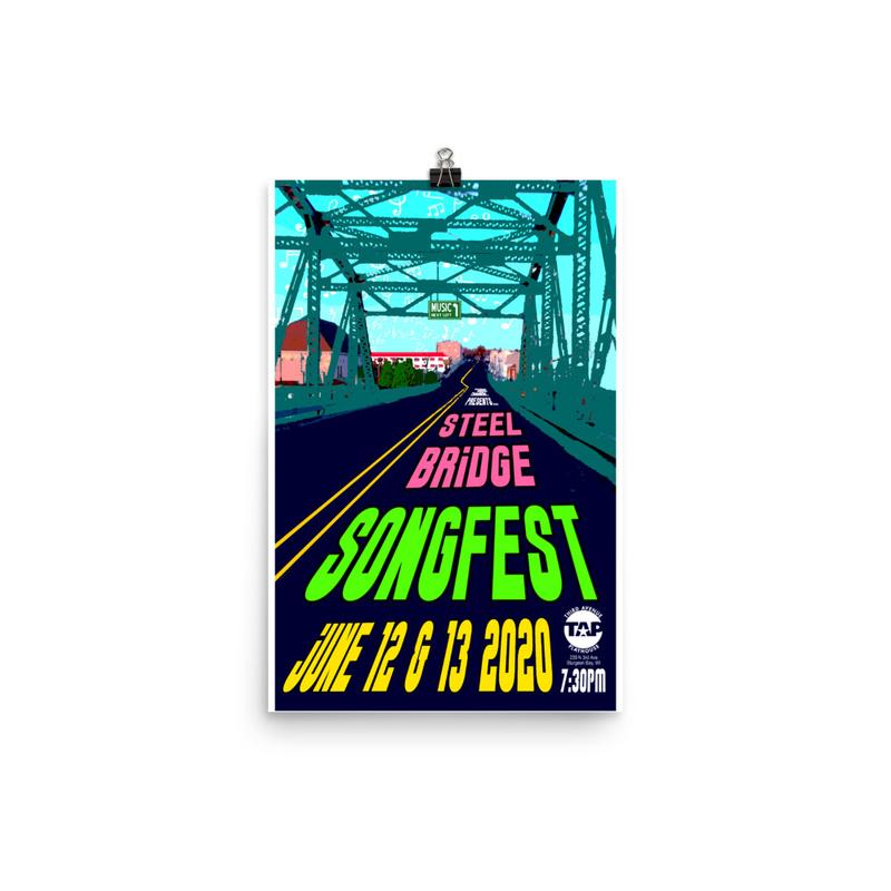 Steel Bridge Songfest 2020 Poster