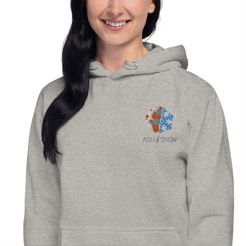 Unisex Embroidered Hoodie