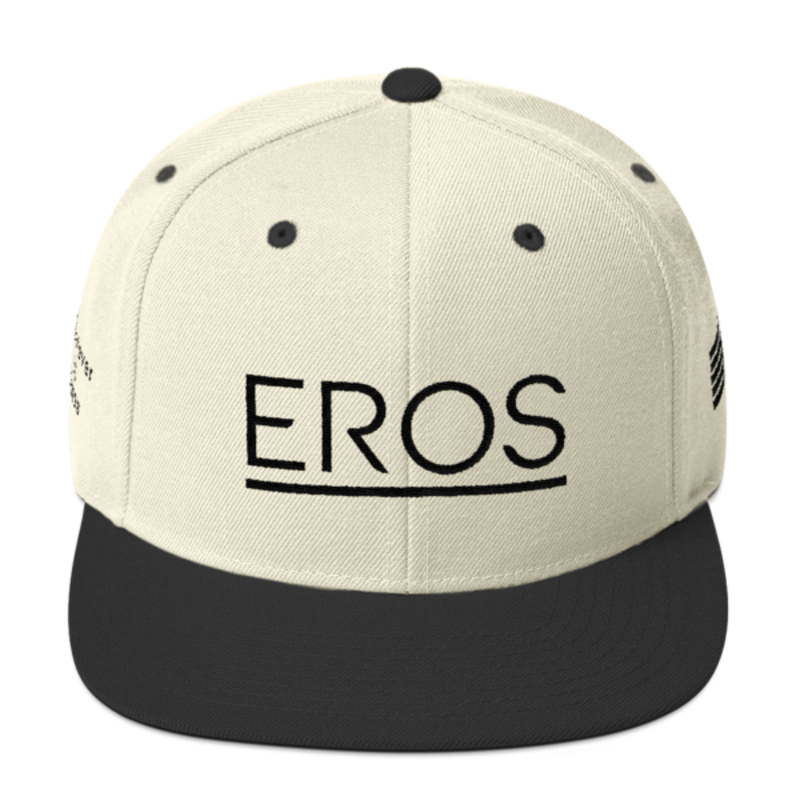 Eros Natural Snapback mockup