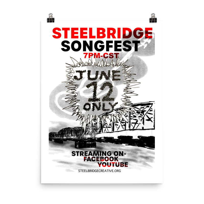 Steel Bridge '21 Poster