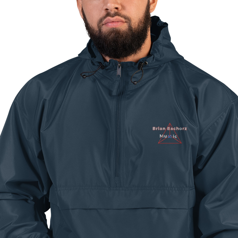 Brian Bachorz Music Embroidered Champion Packable Jacket