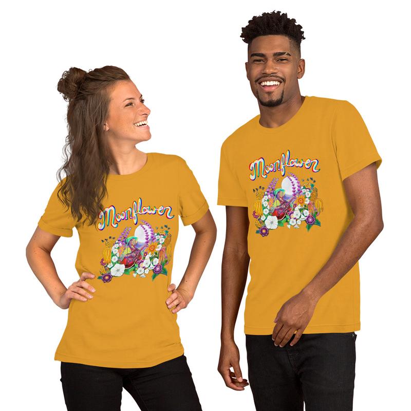 Moonflower Unisex T-Shirt - Bella Canvas