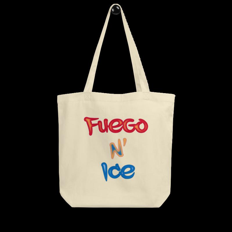 """""""Fuego N' Ice"""" - Eco Tote Bag"""