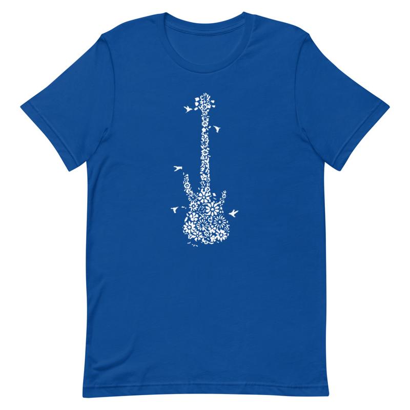 Guitar Short-Sleeve Unisex T-Shirt