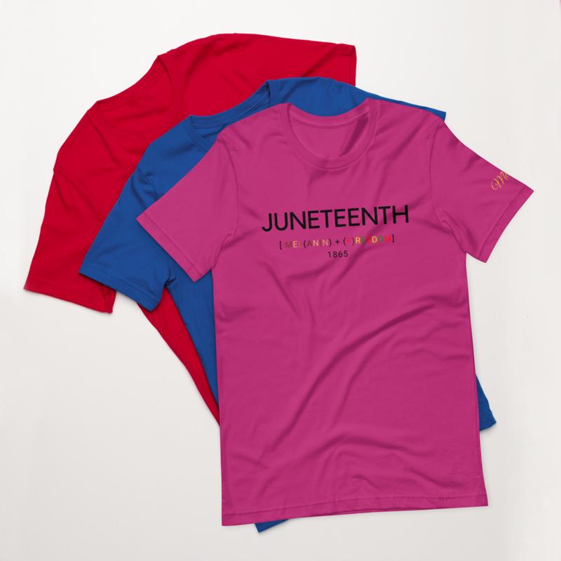 Juneteenth Short-Sleeve Unisex T-Shirt
