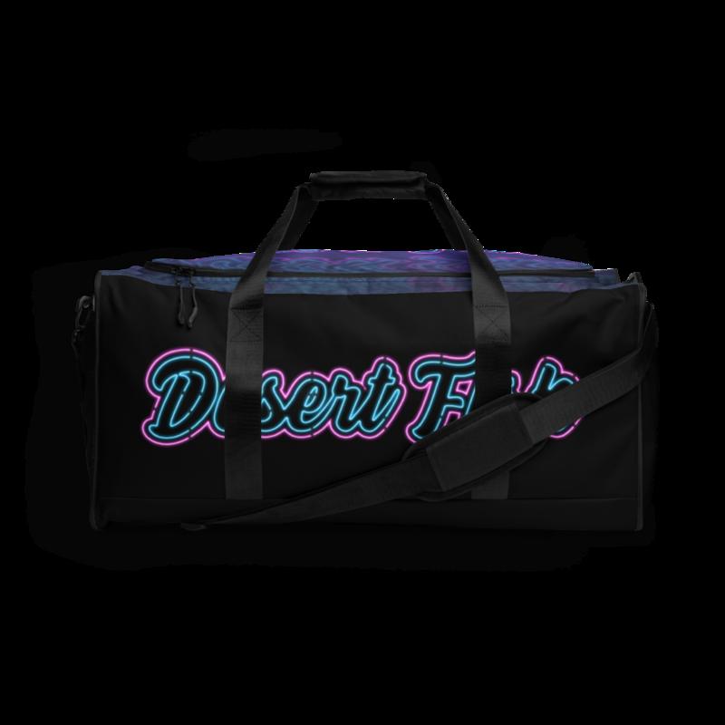 DF Neon Logo Duffle Bag