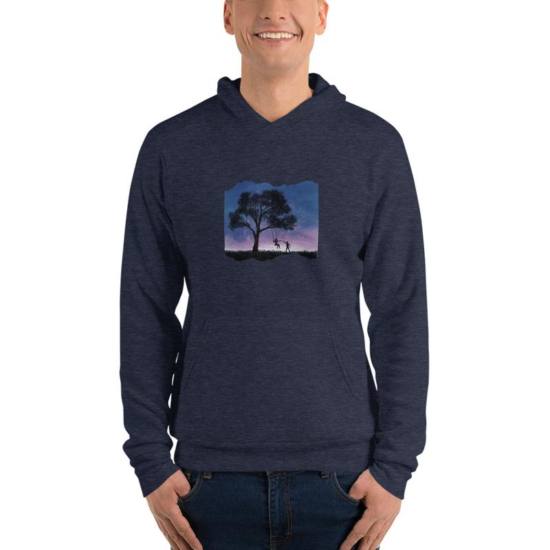 """Unisex """"Finding Again"""" hoodie"""