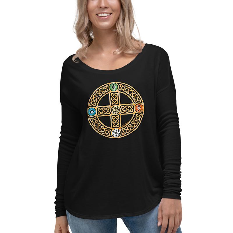 Solar Cross Ladies' Long Sleeve Tee