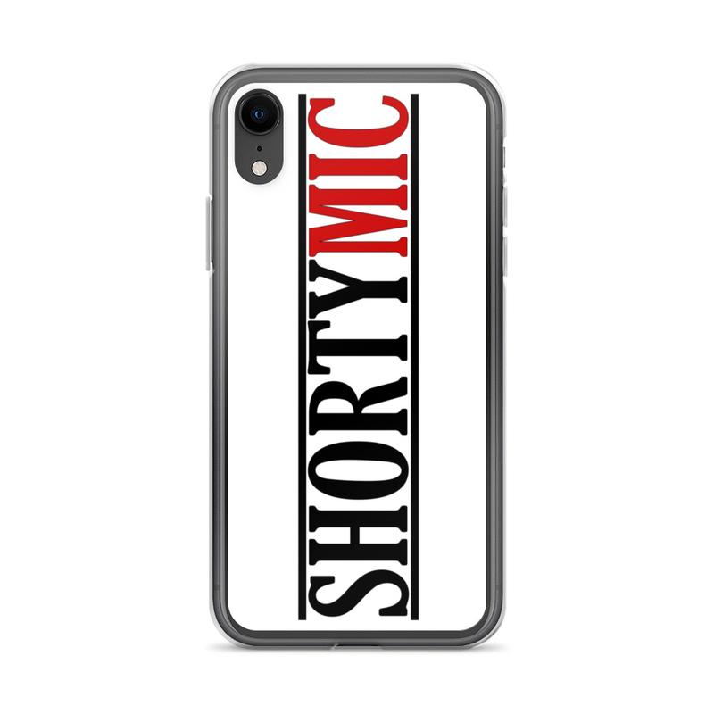 Shorty Mic, White iPhone Case