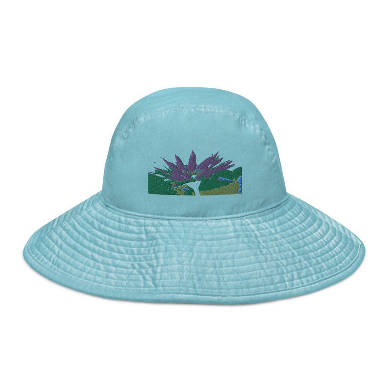 Lotus - Wide brim bucket hat