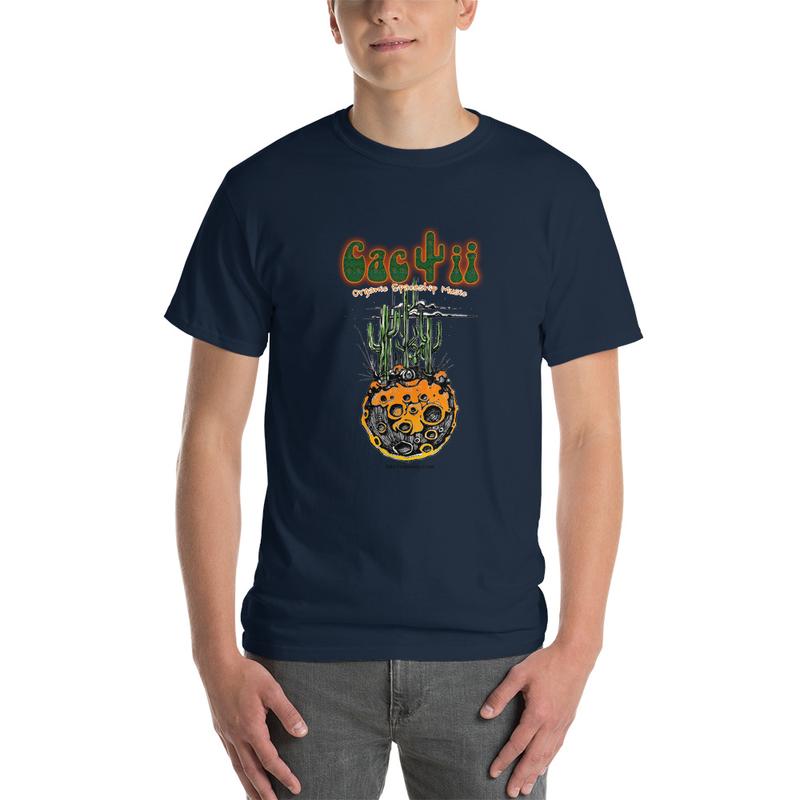 Cactii Moon Short Sleeve T-Shirt