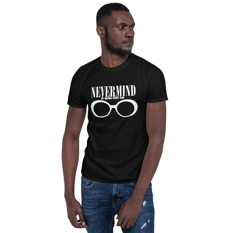 """""""GLASSES WT"""" Short-Sleeve Unisex T-Shirt"""