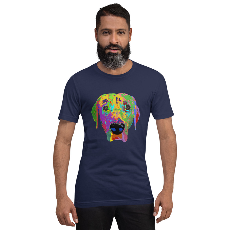 Dog head Short-Sleeve Unisex T-Shirt