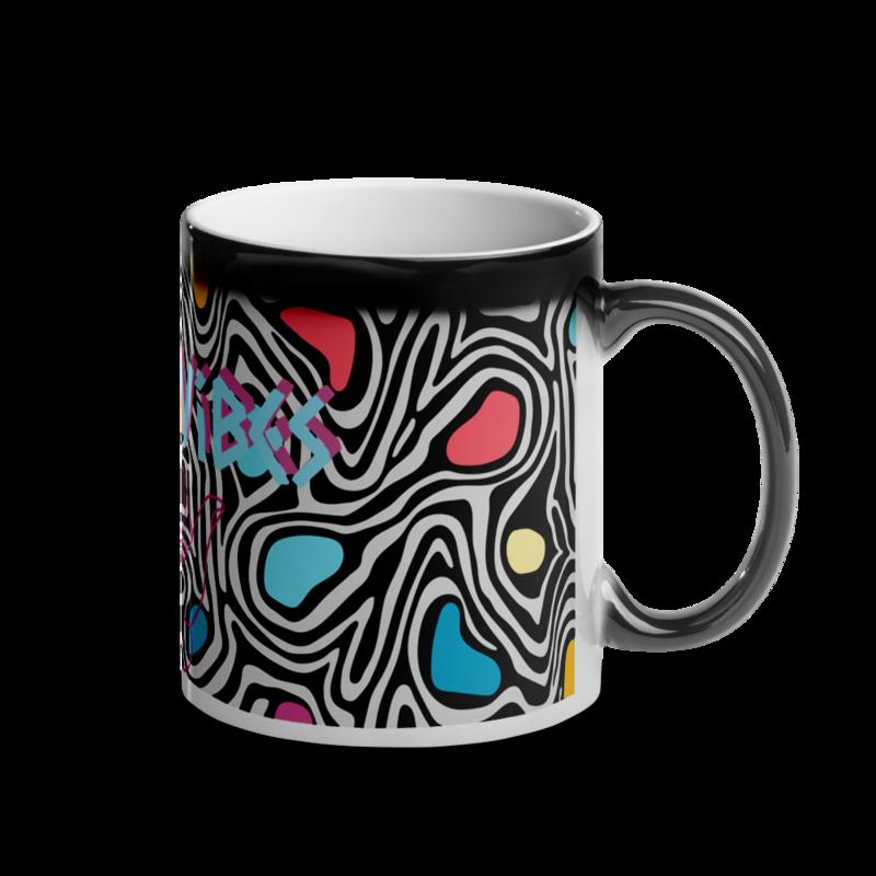 Good Vibes Glossy Magic Mug