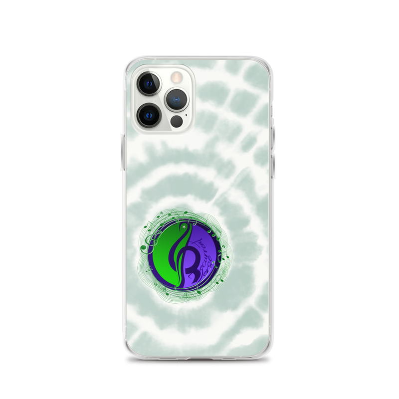 iPhone Tie Dye Logo Case Green