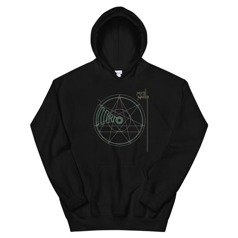 Crop Circle unisex hoodie