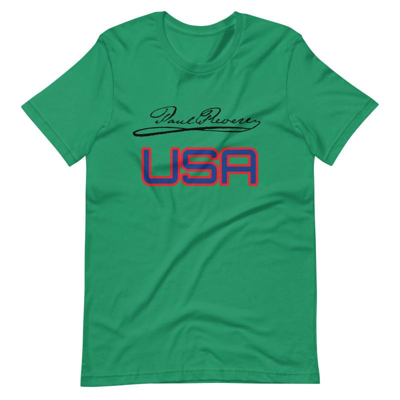 USA Short-Sleeve Unisex T-Shirt