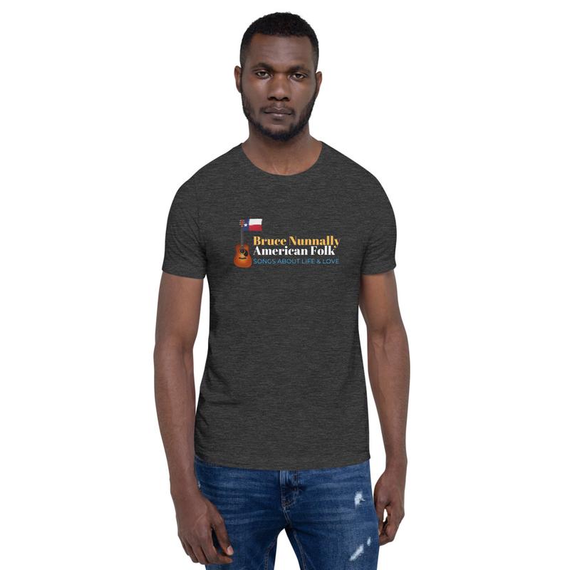 """Bruce Nunnally, American Folk"" Short-Sleeve Unisex T-Shirt"