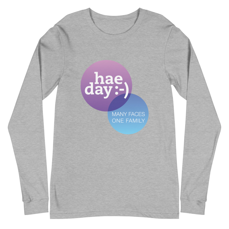 Apparel - hae day :-) Unisex Long Sleeve Tee