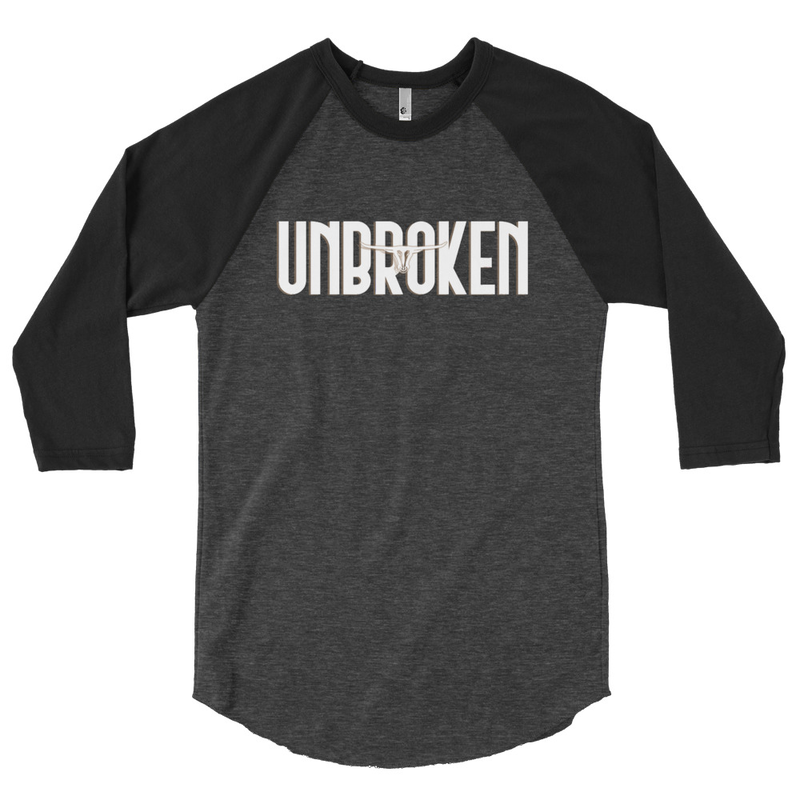 "3/4 sleeve J. Marc Bailey ""Unbroken"""