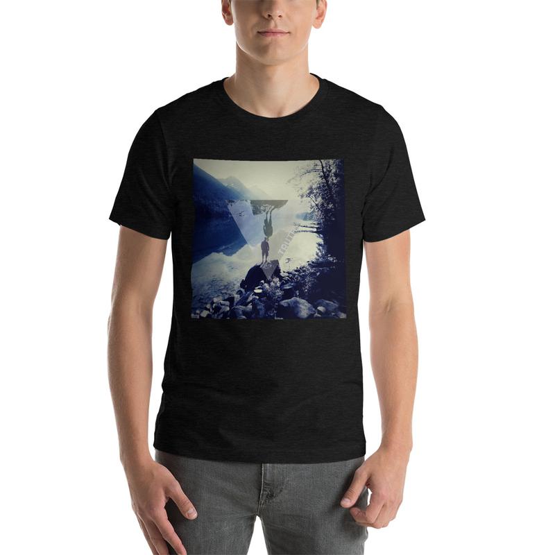 Truth Lofi Hip Hop Music Melancholy T-Shirt, Geometric Lake