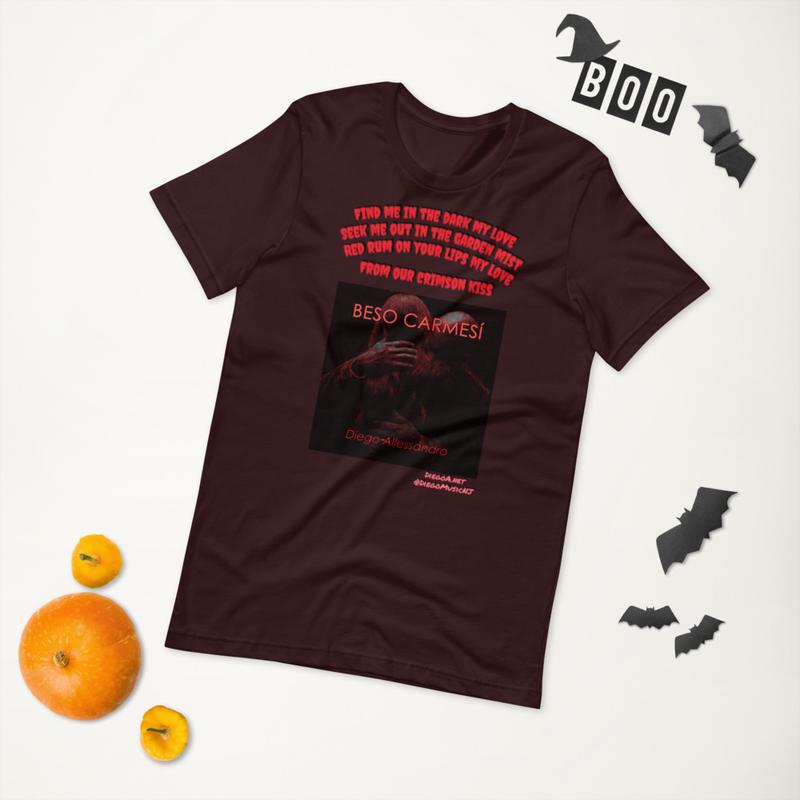Beso Carmesi Unisex T-Shirt