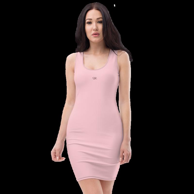 Sublimation Cut & Sew Dress (Pink)
