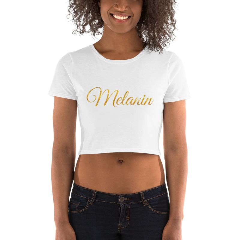 Melanin Women's Crop Tee