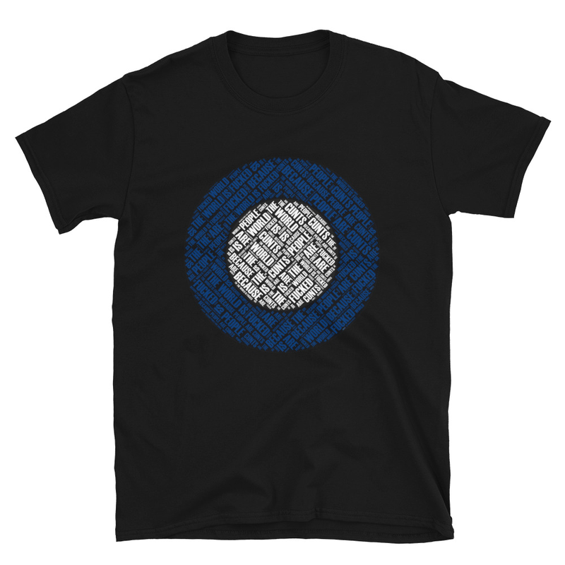 The World is Fucked Short-Sleeve Unisex T-Shirt