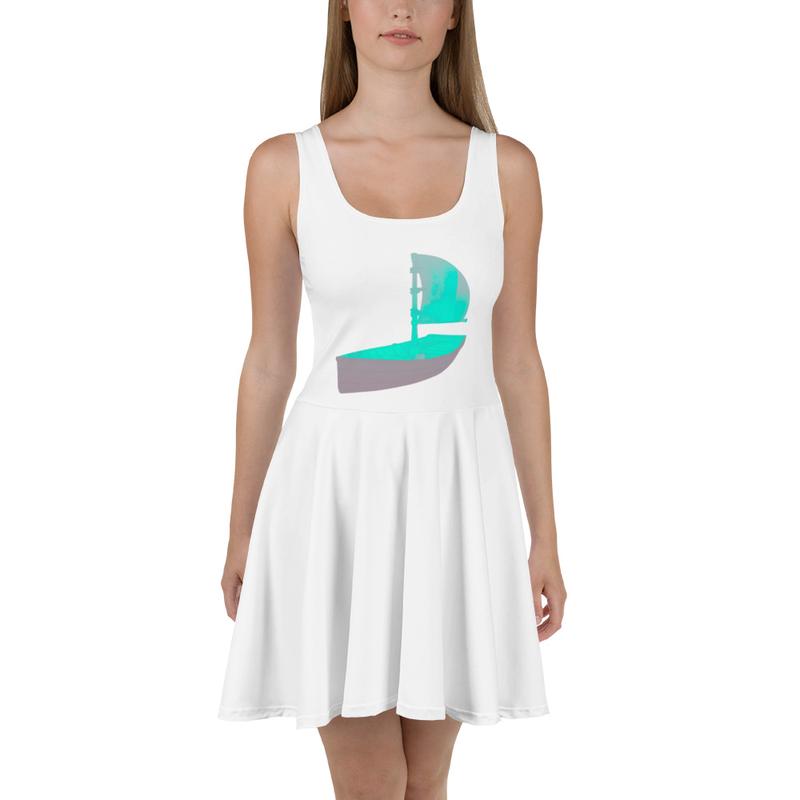 """""""Marooned"""" Skater Dress"""
