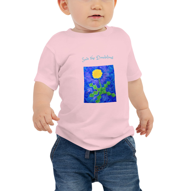 Baby Jersey Save the Dandelions Tee