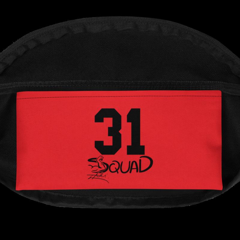 """Red&Black """"I Ain't Sorry"""" Shoulder Bag"""