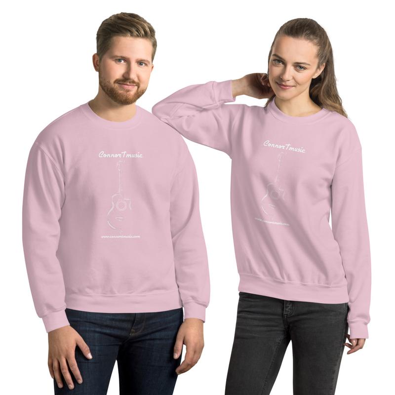 ConnorTmusic Sweatshirt with White Logo!