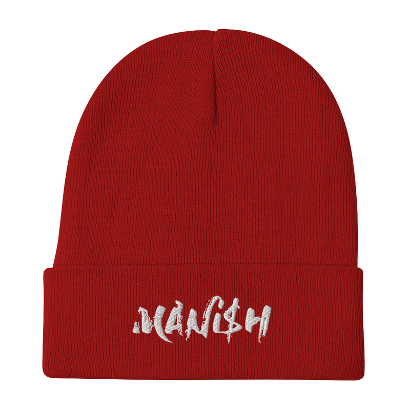 Embroidered Beanie - MANi$H