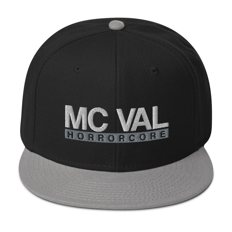 "MC Val ""Horrorcore"" Snapback Hat"