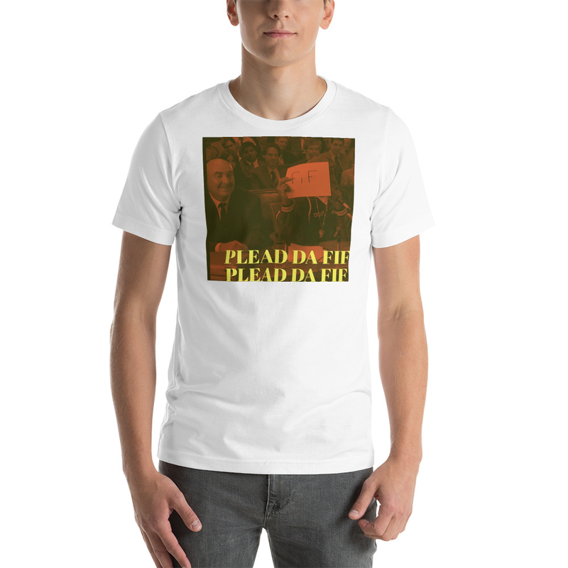 Plead Da Fif Unisex T-shirt (Red Pic)