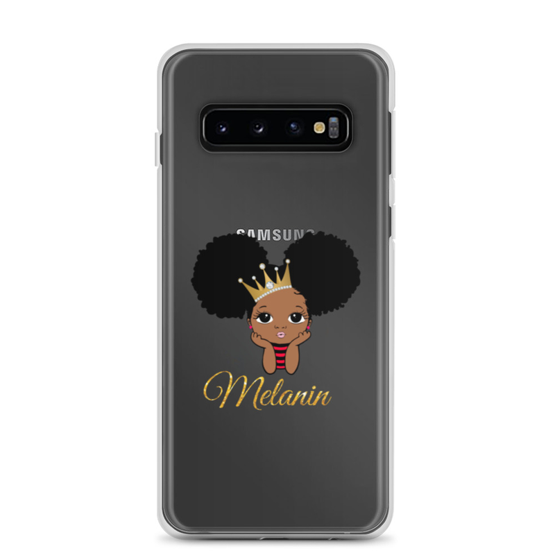 Princess Melanin Samsung Case