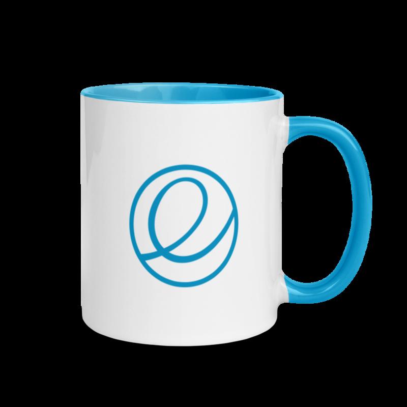 Blue Logomark Mug – 11 oz