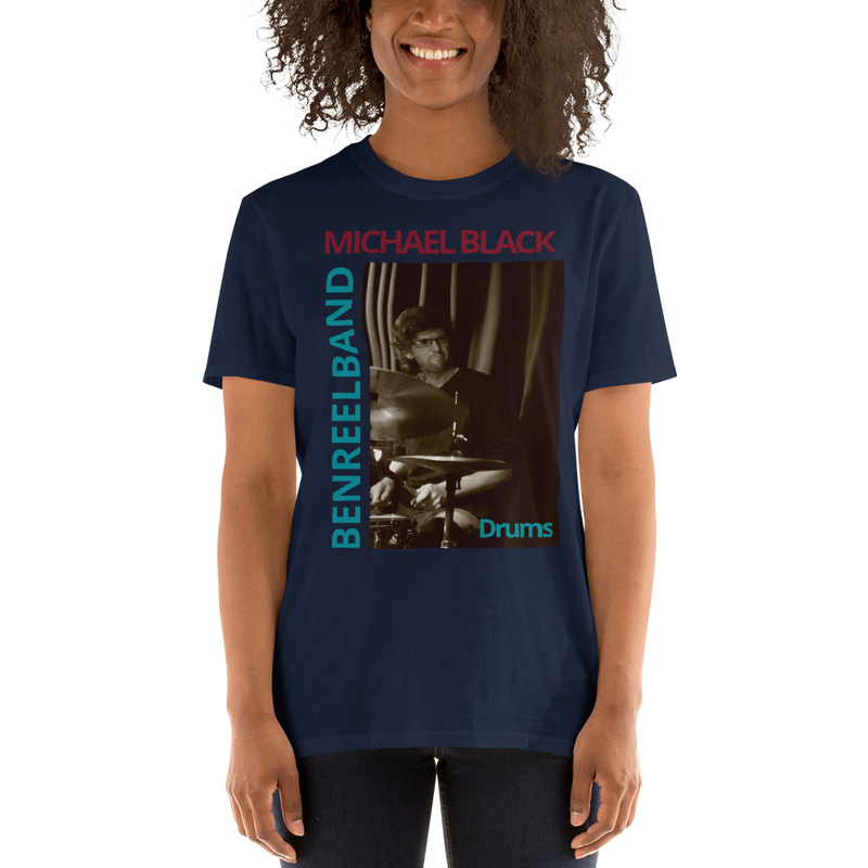 Michael Black Drums- Short-Sleeve Unisex T-Shirt