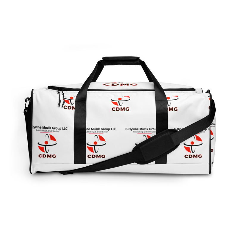 CDMG Custom Duffle Bag-White