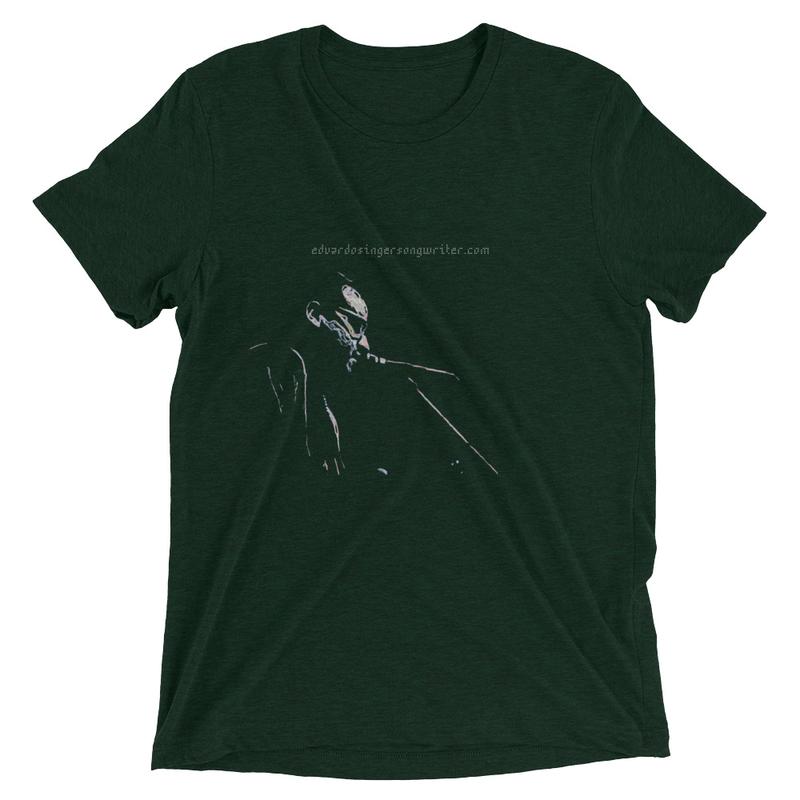 Eduardo Songwriter Unisex Short sleeve Tri-Blend t-shirt