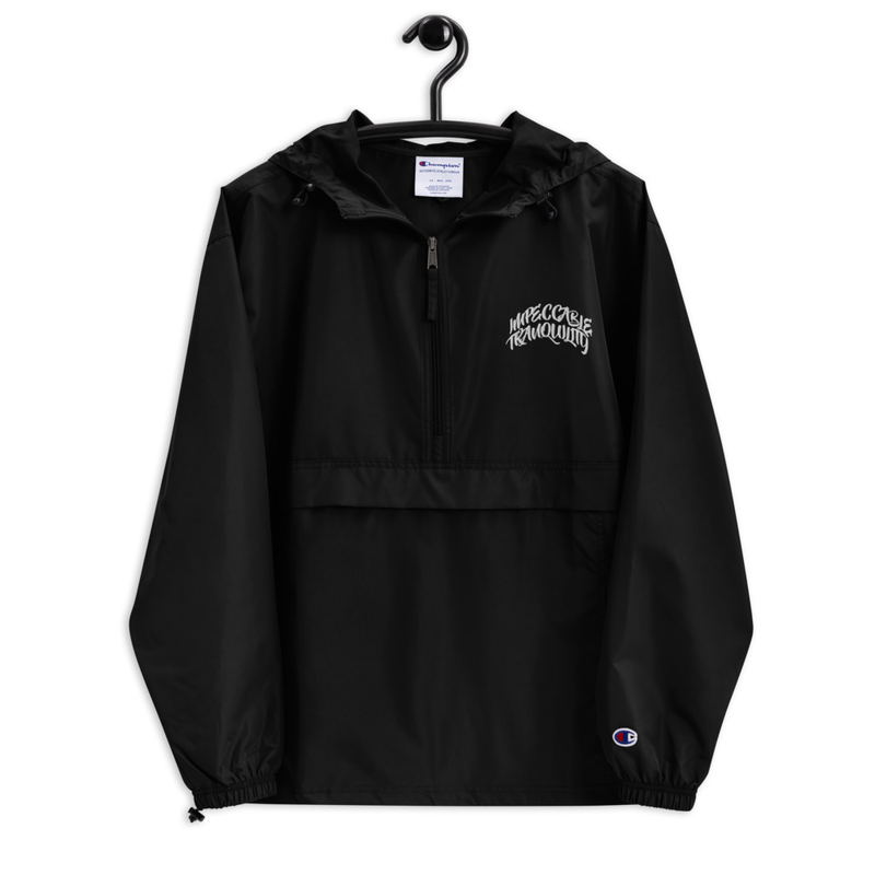 Impeccable Tranquility Embroidered Champion Packable Jacket