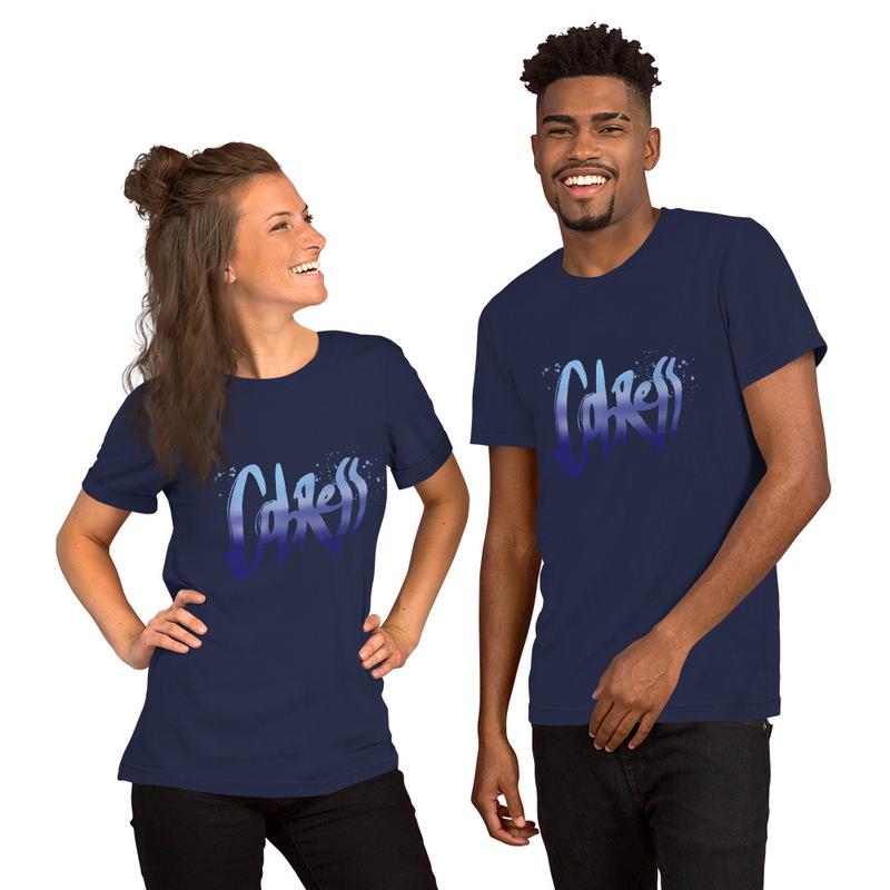 Blue Logo: Pick Your Color Unisex T-Shirt