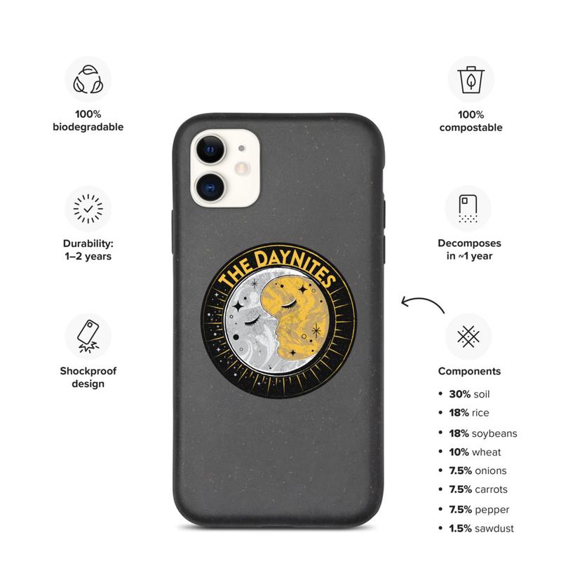 Logo Biodegradable iPhone Case