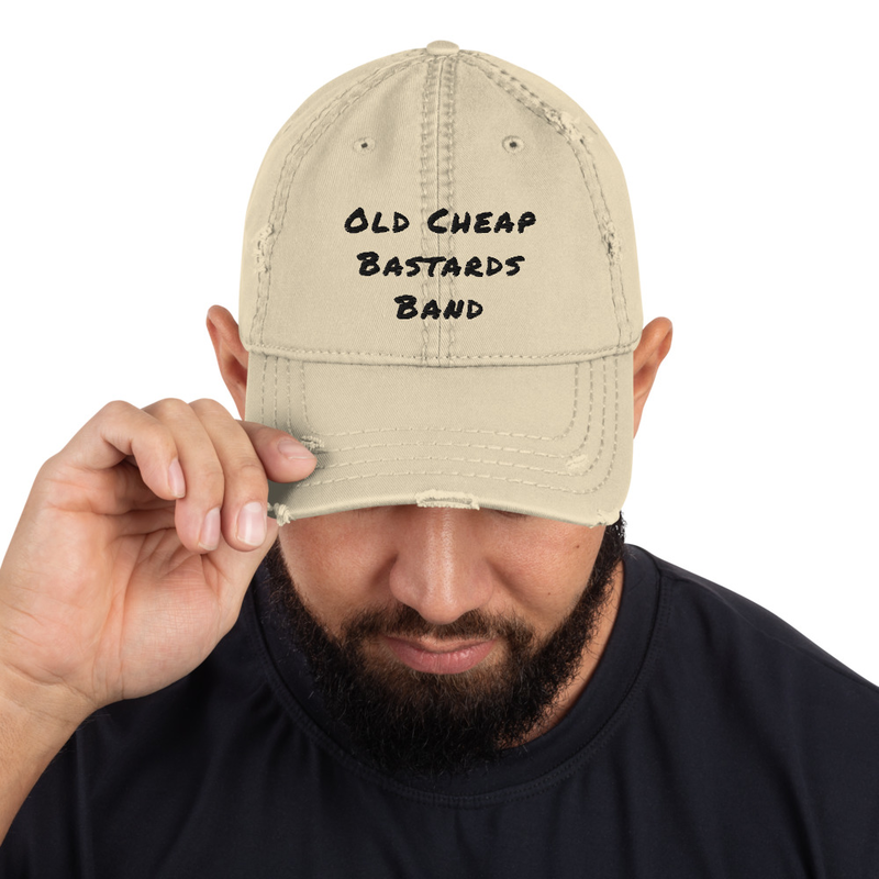 O-C-B-B - Distressed Dad Hat