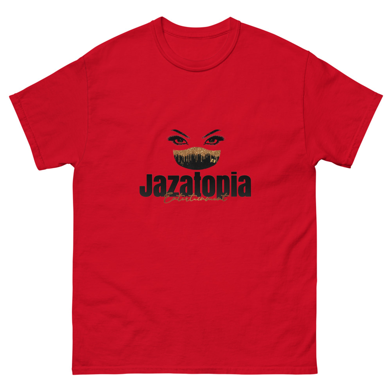Jazatopia Ent Men's heavyweight tee