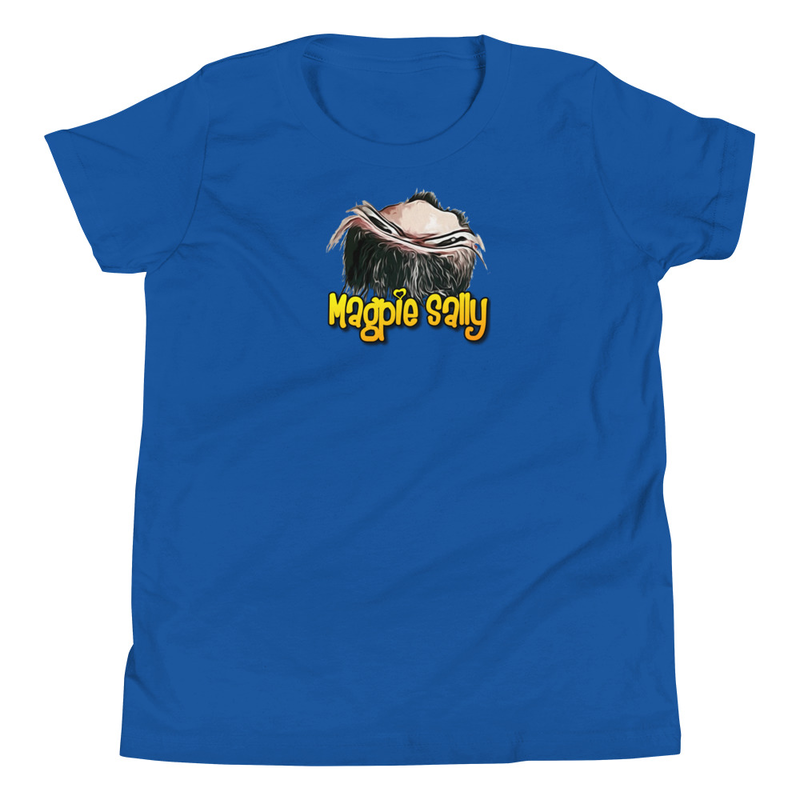 Magpie Sally - Youth Short Sleeve T-Shirt
