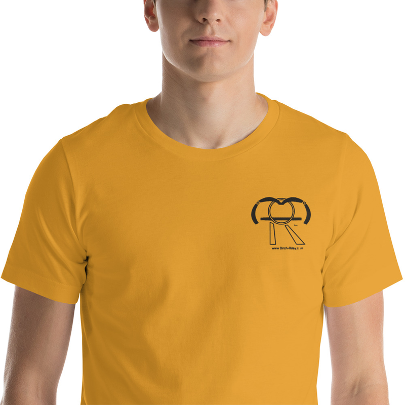 Birch Riley Logo Throwback T-Shirt (small embroidery)