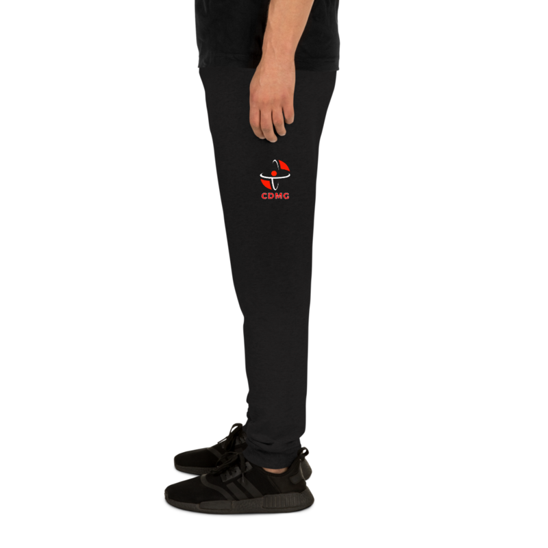 CDMG Custom Joggers | Jerzees Gray/Blk