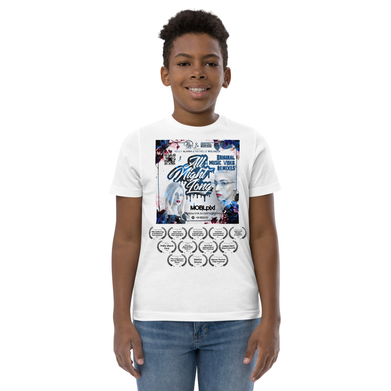 Youth unisex jersey t-shirt